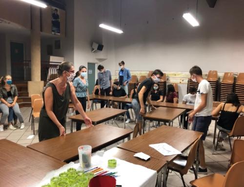 La rentrée de l'aumônerie des lycéens de Tournefeuille et Plaisance